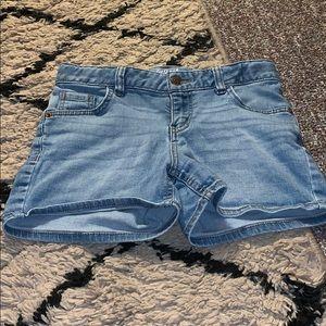 Light blue Target shorts